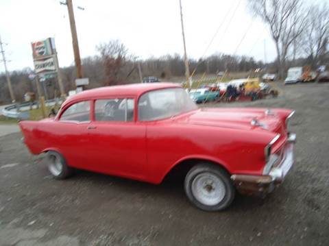 1957 Chevrolet 210 for sale at Marshall Motors Classics in Jackson Michigan MI