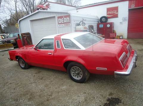 1979 Ford Thunderbird for sale at Marshall Motors Classics in Jackson Michigan MI