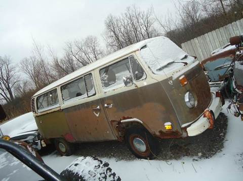 1978 Volkswagen window van for sale at Marshall Motors Classics in Jackson Michigan MI