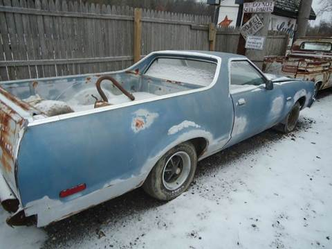 1979 Ford Ranchero for sale at Marshall Motors Classics in Jackson Michigan MI