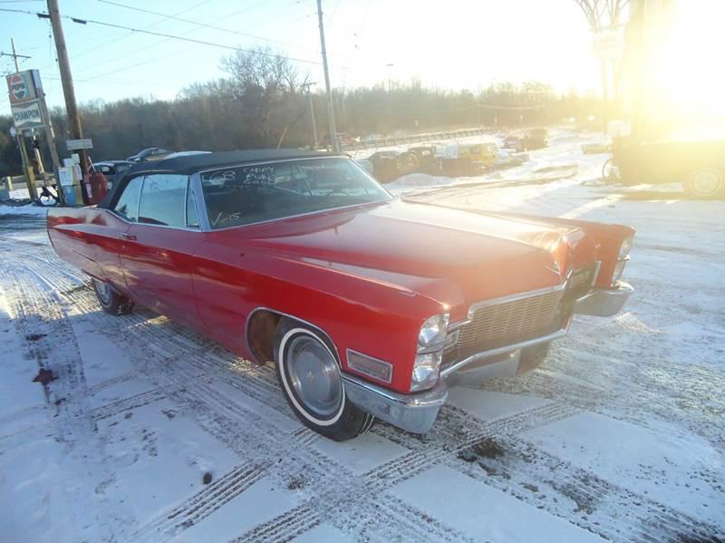 1968 Cadillac Fleetwood for sale at Marshall Motors Classics in Jackson MI