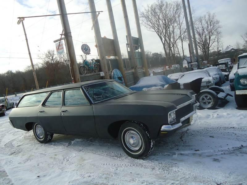 1970 Chevrolet Impala for sale at Marshall Motors Classics in Jackson MI