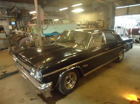 1966 AMC Rambler for sale at Marshall Motors Classics in Jackson Michigan MI