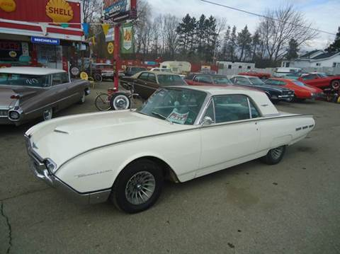 1962 Ford Thunderbird for sale at Marshall Motors Classics in Jackson Michigan MI