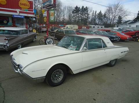 1962 Ford Thunderbird for sale at Marshall Motors Classics in Jackson MI