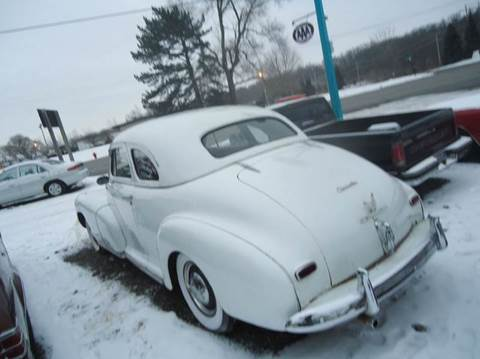 1947 Chevrolet Fleetmaster for sale at Marshall Motors Classics in Jackson Michigan MI