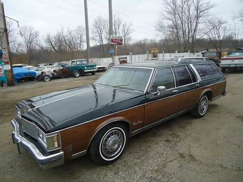 1988 Oldsmobile Custom Cruiser for sale at Marshall Motors Classics in Jackson Michigan MI