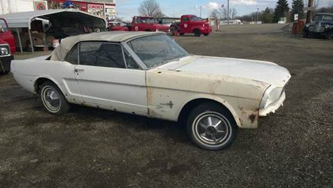 1966 Ford Mustang for sale at Marshall Motors Classics in Jackson Michigan MI