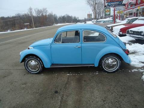 1969 Volkswagen Beetle for sale at Marshall Motors Classics in Jackson Michigan MI