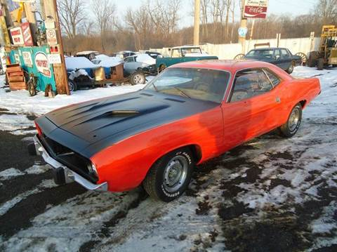 1974 Plymouth Barracuda for sale at Marshall Motors Classics in Jackson Michigan MI