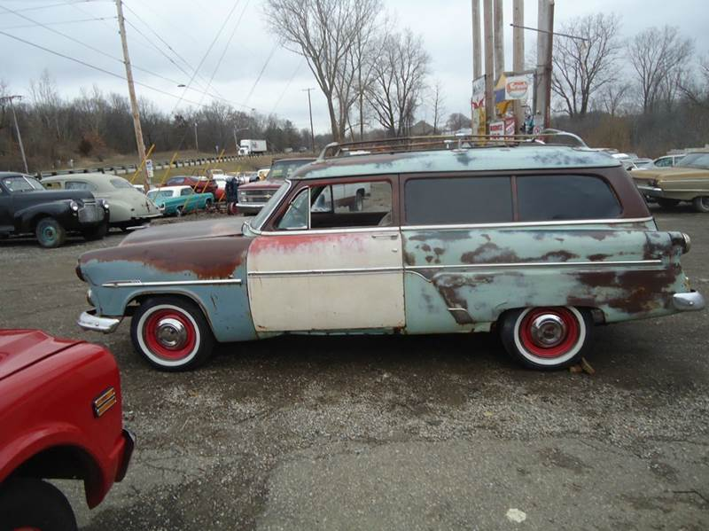 1954 Ford ranch wagon for sale at Marshall Motors Classics in Jackson MI