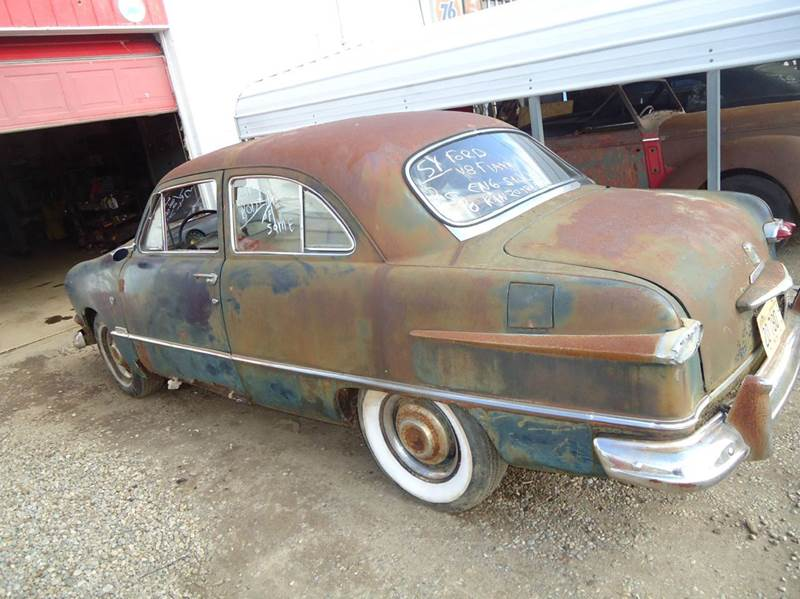 1951 Ford Crestline for sale at Marshall Motors Classics in Jackson Michigan MI