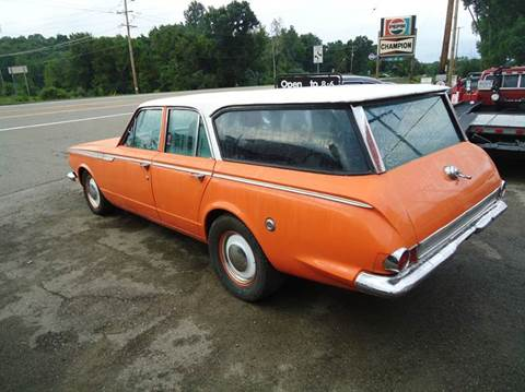 1965 Plymouth Valiant for sale at Marshall Motors Classics in Jackson Michigan MI