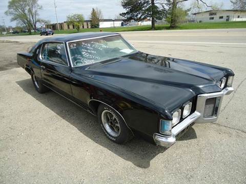1969 Pontiac Grand Prix for sale at Marshall Motors Classics in Jackson Michigan MI