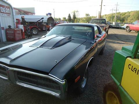 1973 Dodge Charger for sale at Marshall Motors Classics in Jackson Michigan MI