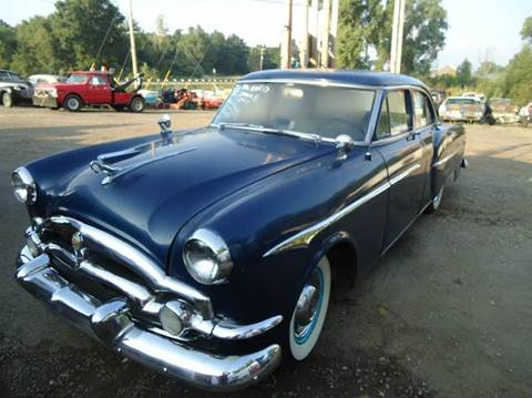 1953 Packard Clipper for sale at Marshall Motors Classics in Jackson Michigan MI