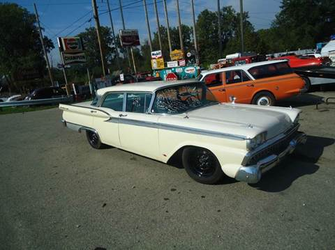 1959 Ford Fairlane 500 for sale at Marshall Motors Classics in Jackson Michigan MI