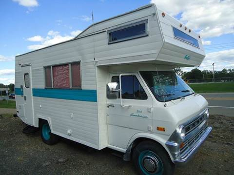 1973 Ford motorhome for sale at Marshall Motors Classics in Jackson Michigan MI