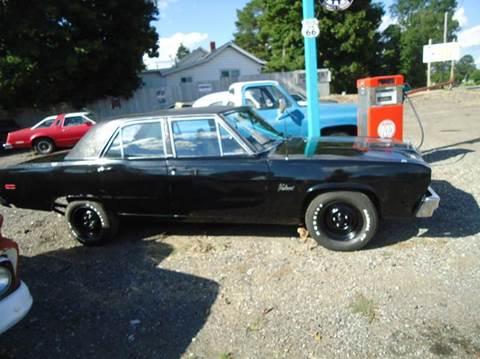 1974 Plymouth Valiant for sale at Marshall Motors Classics in Jackson MI