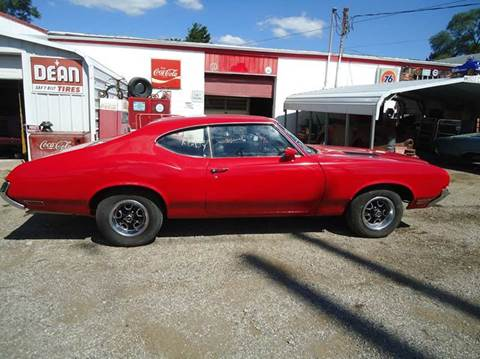 1971 Oldsmobile Cutlass Supreme for sale at Marshall Motors Classics in Jackson Michigan MI
