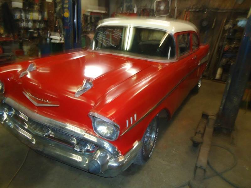 1957 Chevrolet Bel Air for sale at Marshall Motors Classics in Jackson Michigan MI
