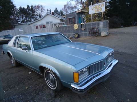1979 Oldsmobile Delta Eighty-Eight Royale for sale at Marshall Motors Classics in Jackson Michigan MI