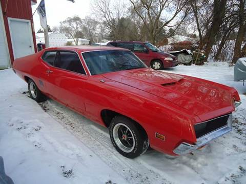 1970 Ford Torino for sale at Marshall Motors Classics in Jackson Michigan MI