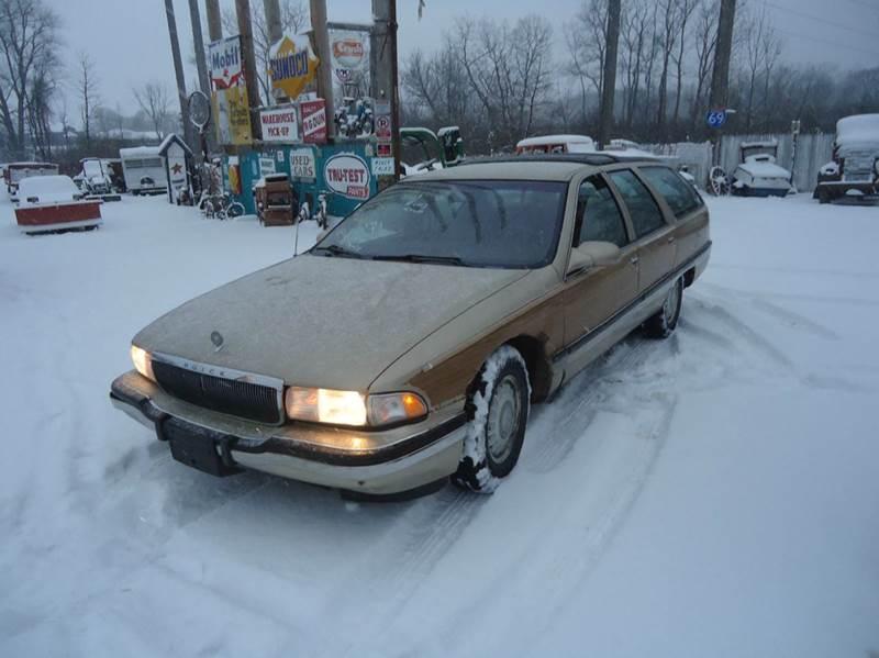1996 Buick Roadmaster for sale at Marshall Motors Classics in Jackson MI