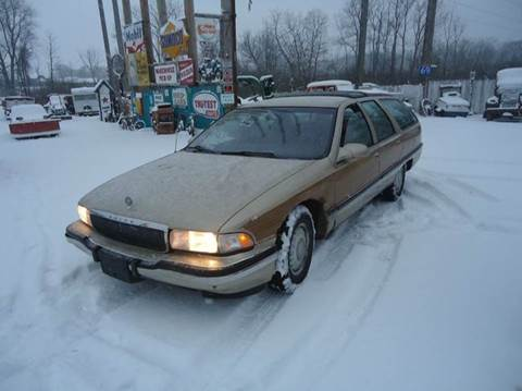 1996 Buick Roadmaster for sale at Marshall Motors Classics in Jackson Michigan MI