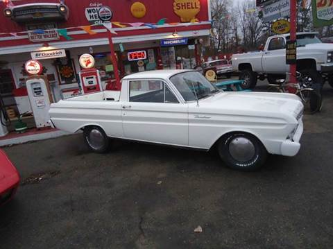 1965 Ford Ranchero for sale at Marshall Motors Classics in Jackson MI