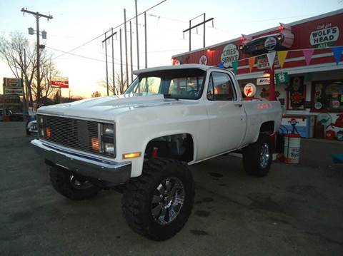 1987 Chevrolet C/K 10 Series for sale at Marshall Motors Classics in Jackson Michigan MI