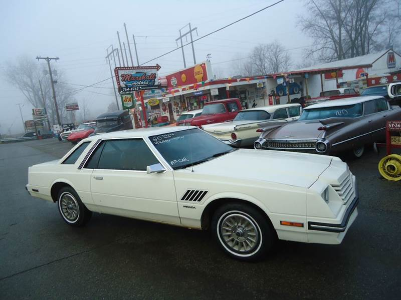 1980 Dodge Mirada for sale at Marshall Motors Classics in Jackson MI