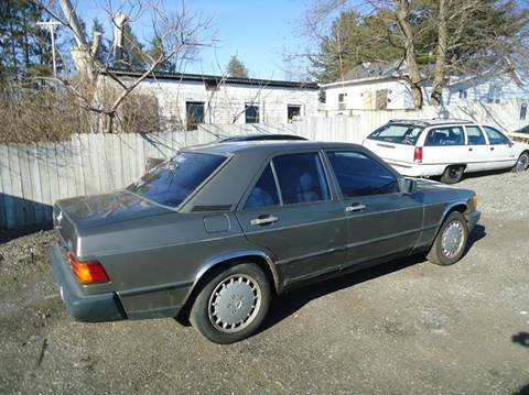 1986 Mercedes-Benz 190-Class for sale at Marshall Motors Classics in Jackson Michigan MI