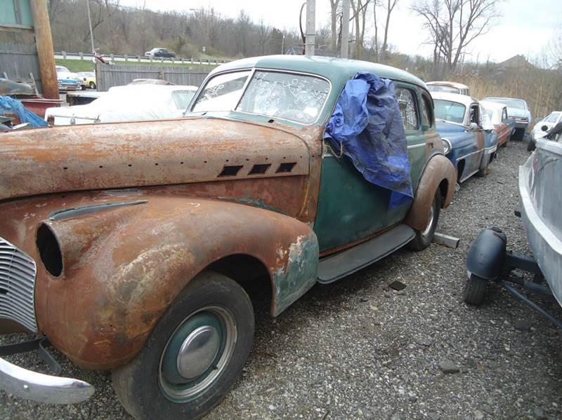 1940 Pontiac Suecide 4 Dr Detroit Used Car for Sale