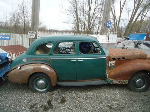 1940 Pontiac SUECIDE 4 DR for sale at Marshall Motors Classics in Jackson Michigan MI