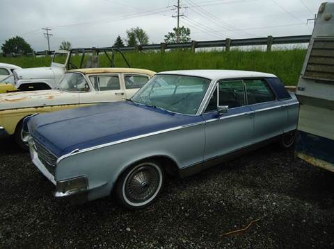 1965 Chrysler Newport for sale at Marshall Motors Classics in Jackson Michigan MI