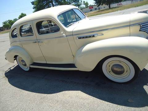1939 Desoto 4 dr sueside  dr for sale at Marshall Motors Classics in Jackson Michigan MI