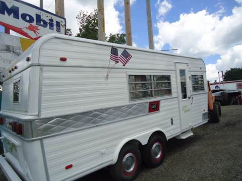 1971 Holiday Rambler trailer for sale at Marshall Motors Classics in Jackson Michigan MI
