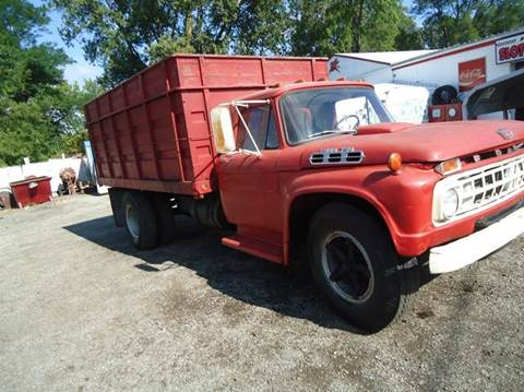 1966 Ford F-750 for sale at Marshall Motors Classics in Jackson Michigan MI