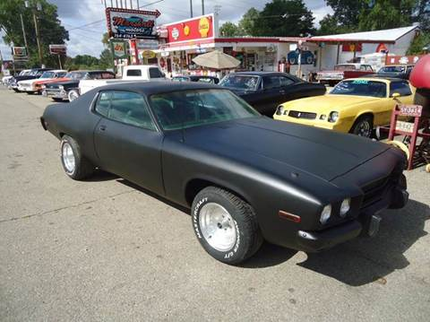 1973 Plymouth Satellite for sale at Marshall Motors Classics in Jackson Michigan MI