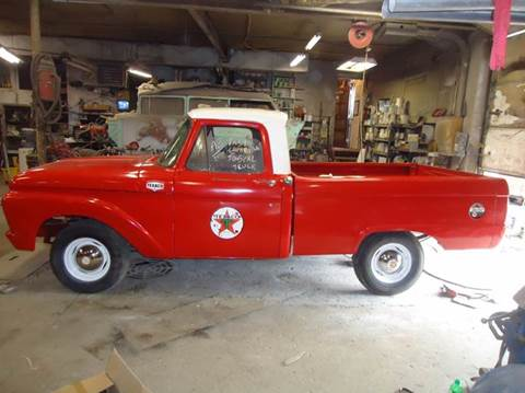 1964 Ford F-100 for sale at Marshall Motors Classics in Jackson Michigan MI