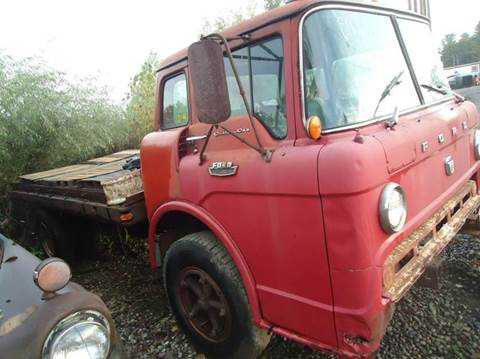 1967 Ford cab over  tilt cab for sale at Marshall Motors Classics in Jackson Michigan MI