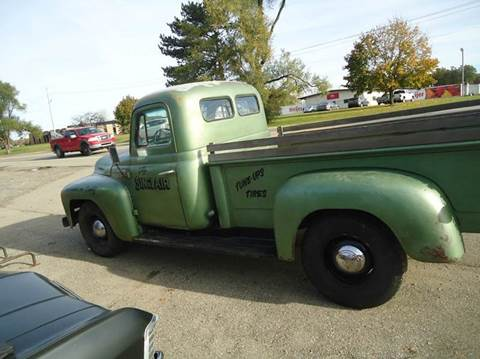 1954 International step side  long box  for sale at Marshall Motors Classics in Jackson Michigan MI