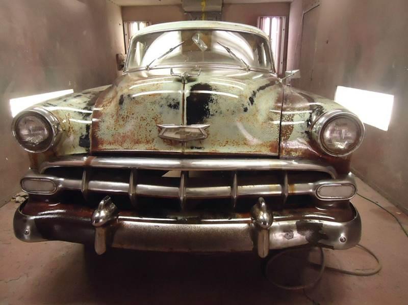 1954 Chevrolet Bel Air for sale at Marshall Motors Classics in Jackson Michigan MI