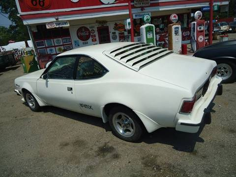 1977 AMC AMX for sale at Marshall Motors Classics in Jackson Michigan MI