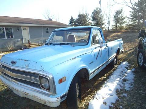 1970 Chevrolet C/K 10 Series for sale at Marshall Motors Classics in Jackson Michigan MI