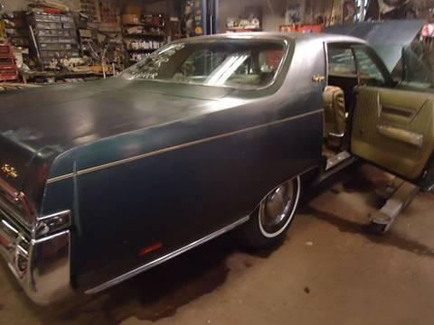 1969 Chrysler New Yorker for sale at Marshall Motors Classics in Jackson MI