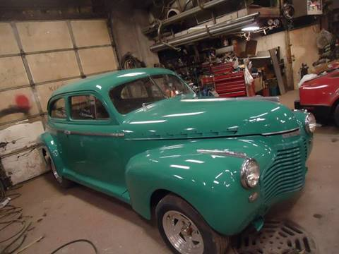 1941 Chevrolet Master Deluxe for sale at Marshall Motors Classics in Jackson MI