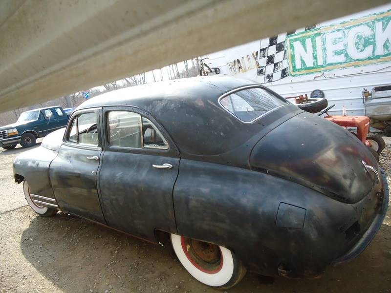 Detroit Used Car for Sale 1948 Packard Clipper 49202 at Marshall ...