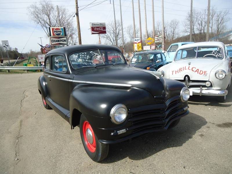 1947 Plymouth Deluxe Detroit Used Car for Sale